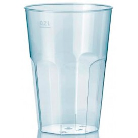 """Plastic Cup PS Crystal """"Deco"""" Clear 200 ml (25 Units)"""