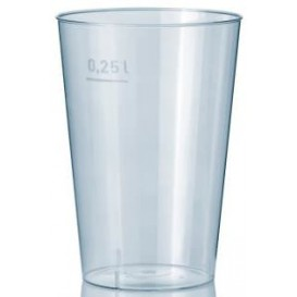 Plastic Cup PS Clear 250 ml (1000 Units)