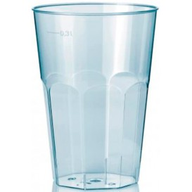 """Plastic Cup PS Crystal """"Deco"""" Clear 300 ml (30 Units)"""