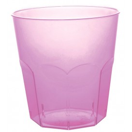 Plastic Cup PS Lilac Clear Ø7,3cm 220ml (50 Units)