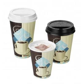 Lid for Paper Cup Hole 10Oz/300ml Ø8,4cm (100 Units)