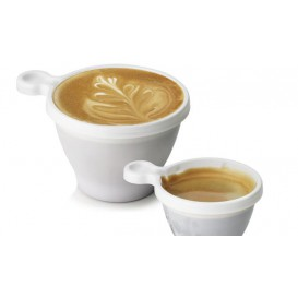 Plastic Cup White 80ml (1100 Units)