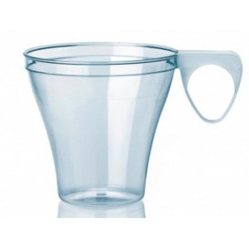 Plastic Cup Clear 80ml (40 Units)