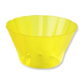 "Plastic Cup ""Royal"" for Cocktail Yellow 500ml (25 Units)"