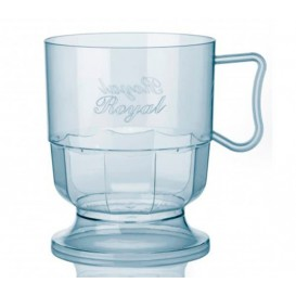 Plastic Cup Rigid Clear 200 ml (12 Units)