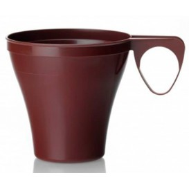 Plastic Cup Brown 80ml (40 Units)