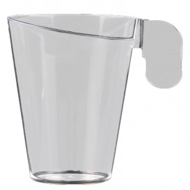 "Plastic Cup ""Design"" Clear 72ml (12 Units)"