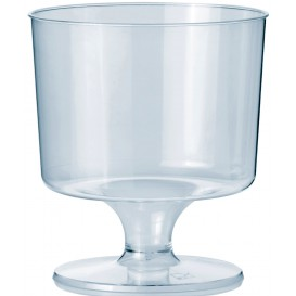 Plastic Stemmed Glass 170ml 1P (10 Units)