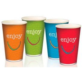 "Paper Cup ""Enjoy"" 12 Oz/360 ml Ø8,0cm (100 Units)"