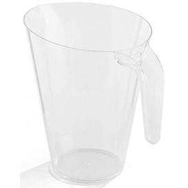Plastic Jar PS Reusable Clear 1.500 ml (20 Units)