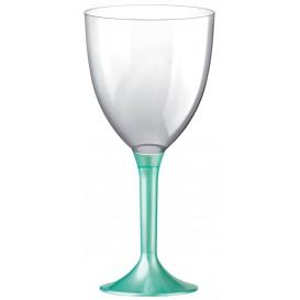 Plastic Stemmed Glass Wine Tiffany Pearl Removable Stem 300ml (200 Units)