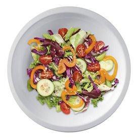 "Plastic Plate Flat White ""Round"" PP Ø22 cm (50 Units)"