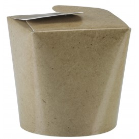 Paper Take-out Container Kraft 800ml (450 Units)
