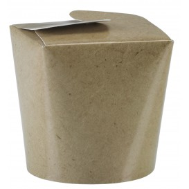 Paper Take-out Container Kraft 529ml (500 Units)