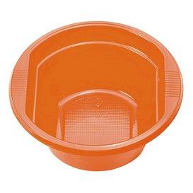 Plastic Bowl PS Orange 250ml Ø12cm (30 Units)