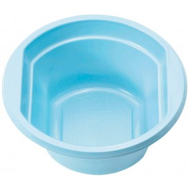 Plastic Bowl PS Light Blue 250ml Ø12cm (30 Units)