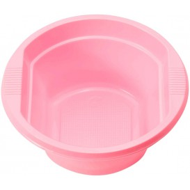 Plastic Bowl PS Pink 250ml Ø12cm (660 Units)