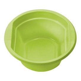 Plastic Bowl PS Lime Green 250ml Ø12cm (30 Units)