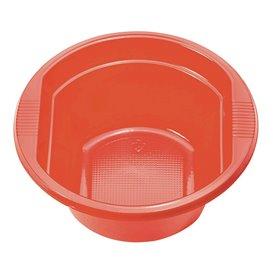 Plastic Bowl PS Red 250 ml Ø12cm (30 Units)