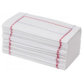"Paper Napkin ""Zigzag"" Red and Blue 14x14 (250 Units)"
