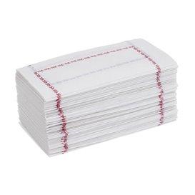 "Paper Napkin ""Zigzag"" Blue 14x14 (25.000 Units)"