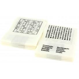"Paper Napkin Miniservis ""Hobbie"" 17x17cm (6000 Units)"