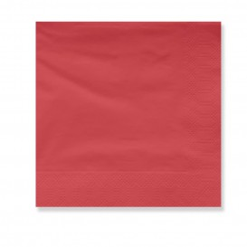 Paper Napkin Edging Red 2 Layers 30x30cm (4500 Units)