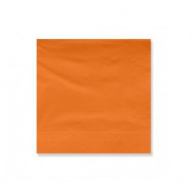 Paper Napkin Edging Terracotta 20x20cm 2C (100 Units)