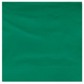 Paper Napkin Edging Green 25x25cm 2C (3400 Units)