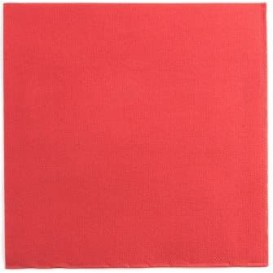 Paper Napkin Red 25x25cm 2C (2100 Units)