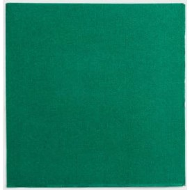 Paper Napkin Double Point Green 2C 33x33cm (50 Units)
