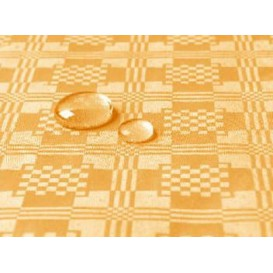 Tablecloth Roll Waterproof Gold 1,2x5m (10 Units)