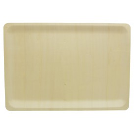 Wooden Tray 40x28x2cm (10 Units)