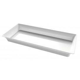 "Tasting Mini Tray PS ""Karo"" Clear 5x13 cm (288 Units)"