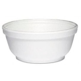 Foam Container White 8Oz/240 ml Ø11cm (50 Units)