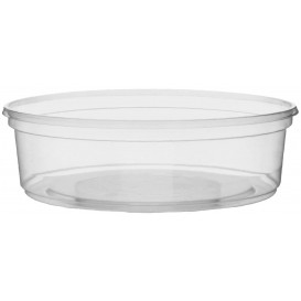 Plastic Deli Container Clear PP 125ml Ø10,5cm (100 Units)