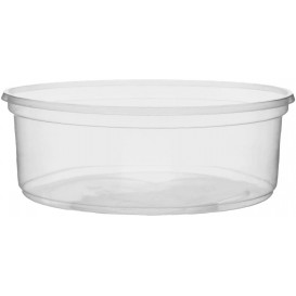 Plastic Deli Container Clear PP 150ml Ø10,5cm (100 Units)