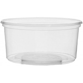 Plastic Deli Container PP Clear 250ml Ø10,5cm (100 Units)