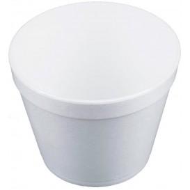 Foam Container White 24Oz/710ml Ø12,7cm (25 Units)