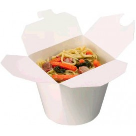 Paper Take-out Container White 800ml (450 Units)