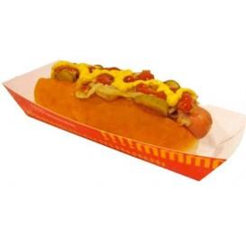 Paper Hot Dog Tray 17,0x5,5x3,8cm (1.000 Units)