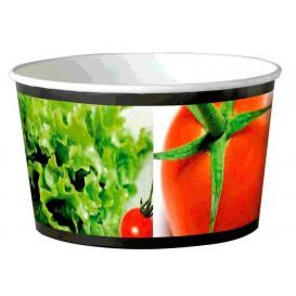 Paper Salad Bowl Large size 1030ml (34 Units)