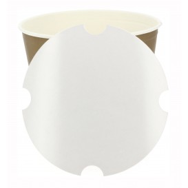 Paper Lid for Chicken Bucket 3990ml (100 Units)