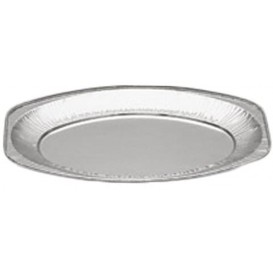 Foil Tray Oval shape 870ml (100 Units)