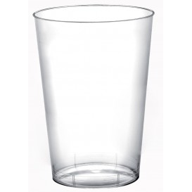 """Plastic Cup PS """"Moon"""" Clear 230ml (50 Units)"""