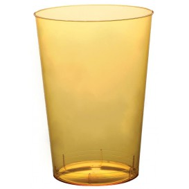 """Plastic Cup PS """"Moon"""" Yellow Clear 230ml (1000 Units)"""