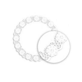 """Paper Lace Doilie """"Litos"""" White Ø20cm (250 Units)"""