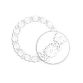 """Paper Lace Doilie White """"Litos"""" 19cm (2000 Units)"""