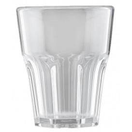 "Plastic Shot SAN Reusable ""Frost"" Clear 40ml (6 Units)"