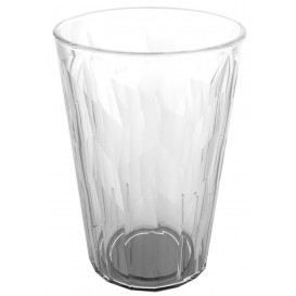 """Plastic Glass SAN Reusable """"Granity"""" Ice Clear 420 ml (75 Units)"""